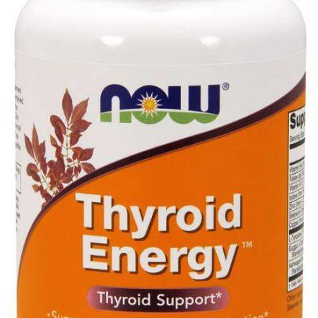 Thyroid Energy – 90 cápsulas – Now