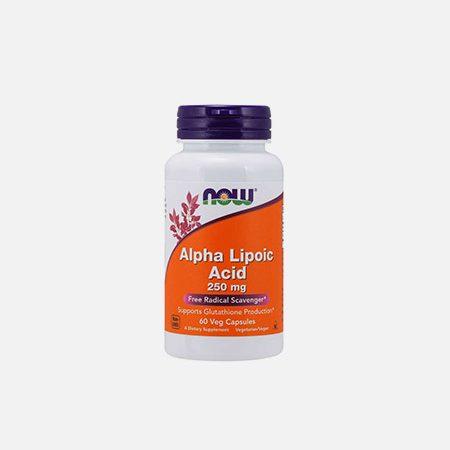 Alpha Lipoic Acid (Ácido Alfa Lipóico) 250mg – 60 cápsulas – Now