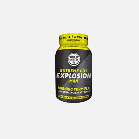 Extreme Cut Explosion Man – 90 cápsulas – Gold Nutrition
