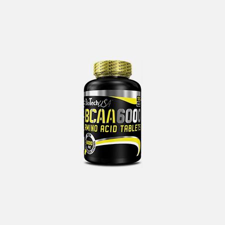 BCAA 6000 – 100 comprimidos – BioTech USA
