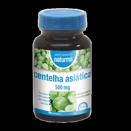 Naturmil Centelha asiática 500mg – 90 comprimidos – DietMed