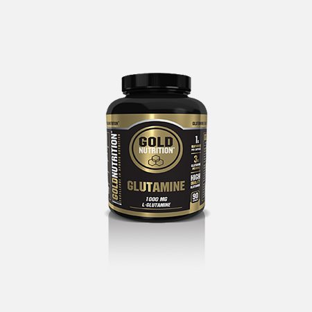 Glutamina 1000 mg – 90 cápsulas – Gold Nutrition