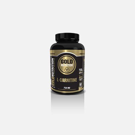 L-Carnitina 750 mg – 60 cápsulas – Gold Nutrition