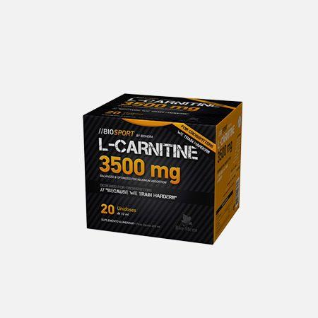 L-Carnitina 3500mg – 20 unidoses – Bio-Hera