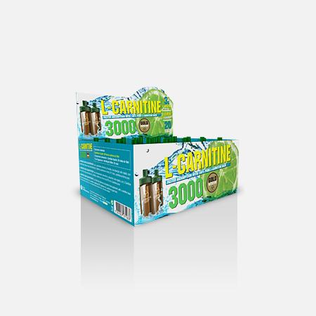 L-Carnitina 3000mg – Gold Nutrition – 20 unidoses