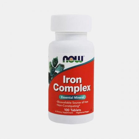 Iron Complex – 100 comprimidos – Now