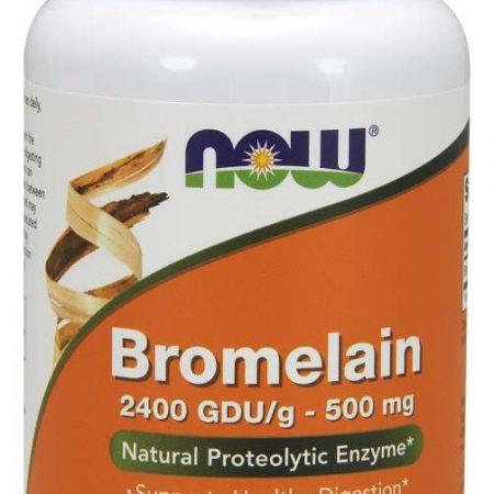 Bromelain 500mg – 60 comprimidos – Now