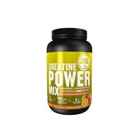 Creatine Power Mix Manga-Laranja – 1Kg – Gold Nutrition