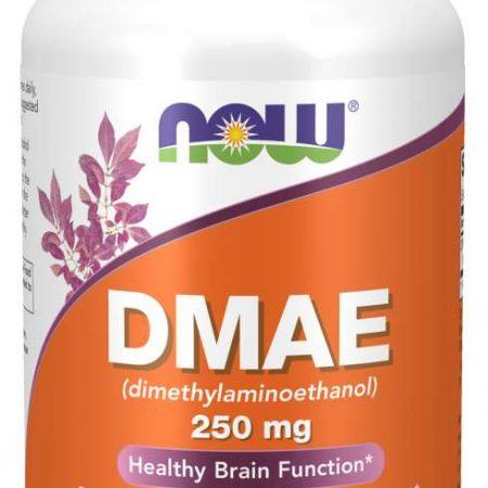 DMAE 250mg – 100 cápsulas – Now