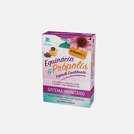 EQUINÁCIA e PRÓPOLIS com Vitamina C – 40 comprimidos – Bio-Hera