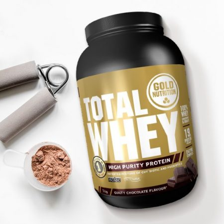 Total Whey (sabor Chocolate) – Gold Nutrition  – 1000g
