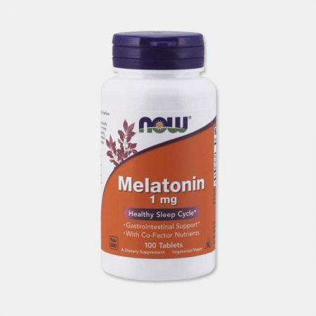 Melatonina 1mg – 100 comprimidos – Now