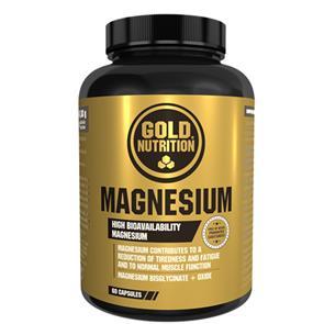 Magnesium – 60 cápsulas – Gold Nutrition