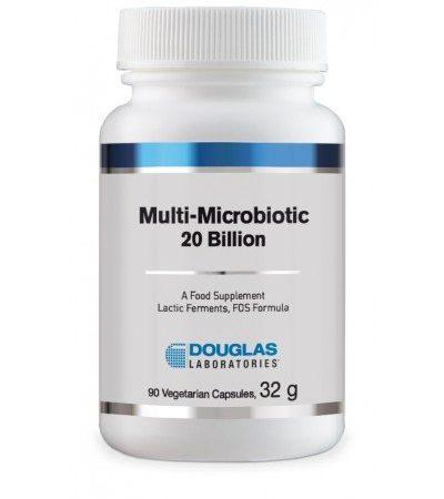 Multi-Microbiotic 20 Billion – 90 cápsulas – Douglas