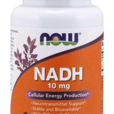 NADH 10 mg – 60 cápsulas – Now