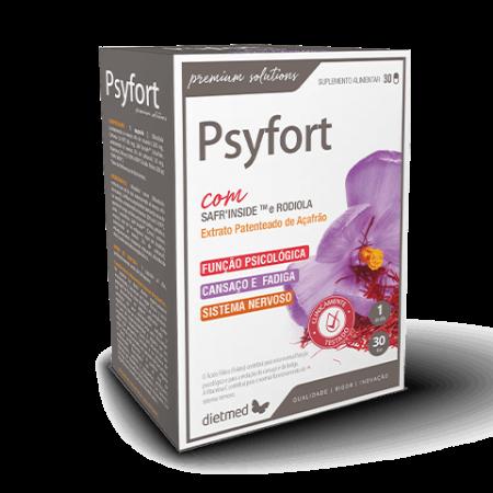 Psyfort – 30 cápsulas – DietMed