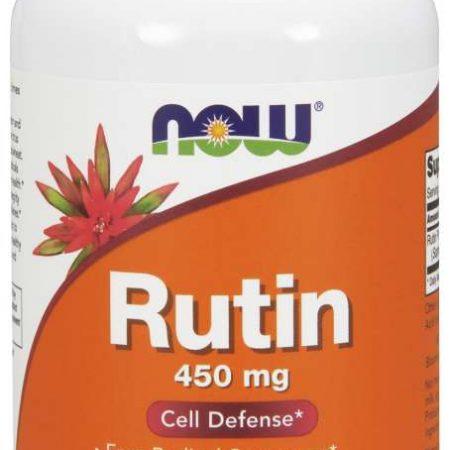 Rutin 450 mg – 100 cápsulas – Now