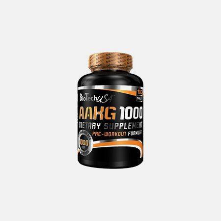AAKG 1000 – 100 comprimidos – BioTech USA