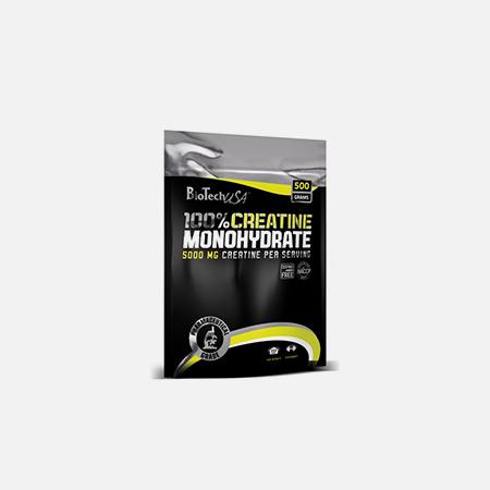 100% Creatina Monohidratada – 500 g – BioTech USA