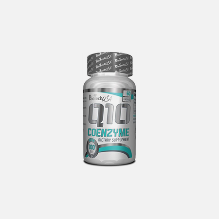 Q10 Coenzyme Capsulas – 60 cápsulas – BioTech USA