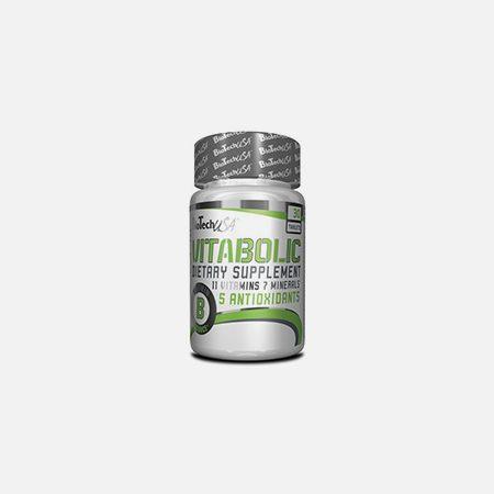 Vitabolic Comprimidos – 30 comprimidos – BioTech USA