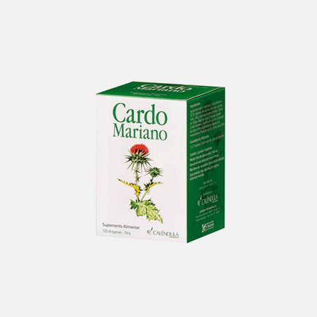 Cardo Mariano – 120 comprimidos – Calêndula