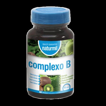 Naturmil Complexo B – 60 cápsulas – DietMed