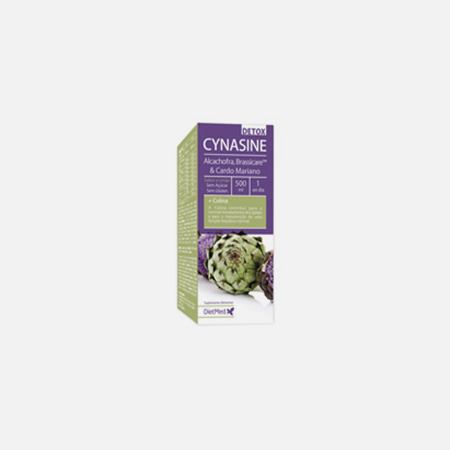 Cynasine Detox Xarope – 500 mL – DietMed