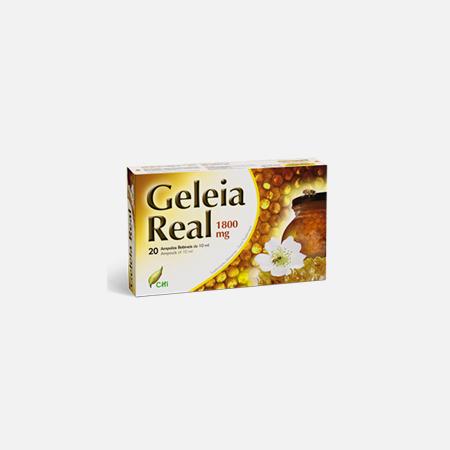 Geleia Real 1800 mg Ampolas – 20 ampolas – CHI