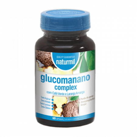 Naturmil Glucomanano Complex – 60 cápsulas – DietMed