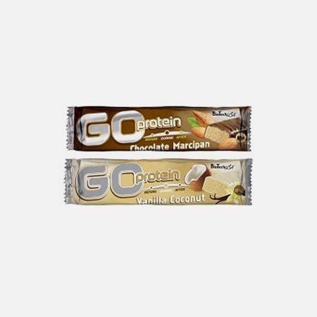 Go Protein Bar Chocolate&Amêndoa – 40 g – BioTech USA