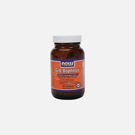 Gr8-Dophilus Capsulas – 60 cápsulas – Now