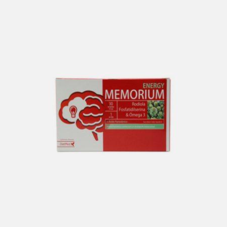 Memorium Energy Ampolas – 30 ampolas – DietMed