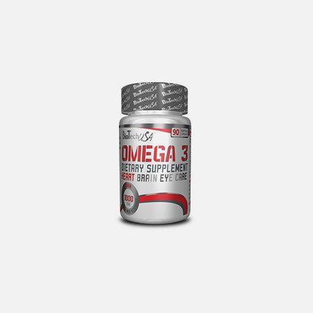 Ómega-3 Capsulas – 90 cápsulas – BioTech USA