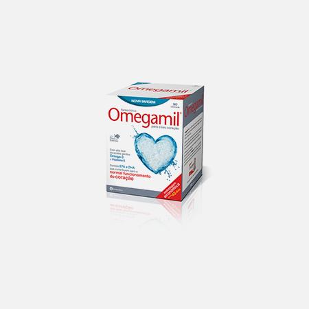Omegamil – 90 cápsulas – Farmodiética