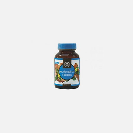 Pau de Cabinda + Tribulus – 60 cápsulas – DietMed
