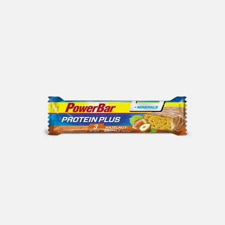 Protein Plus Avelã&Minerais – 35 g – Power Bar