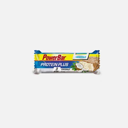 Protein Plus Coco&Minerais – 35 g – Power Bar