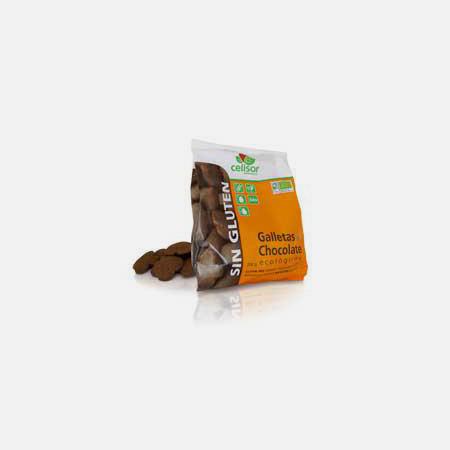 Bolachas de Chocolate Biológicas – 200 g – Soria Natural