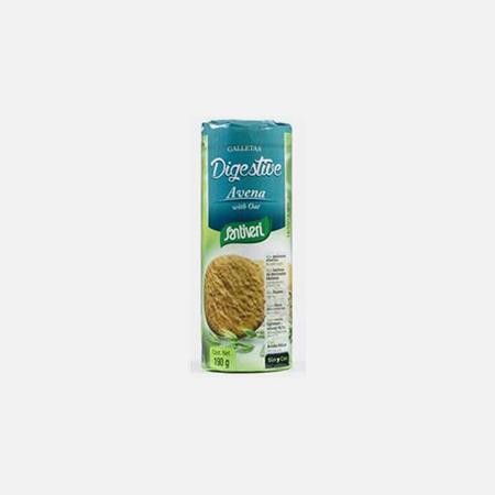 Bolachas Digestivas de Aveia – 190 g – Santiveri