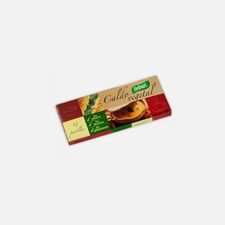 Caldo Vegetal – 12 Cubos – Santiveri