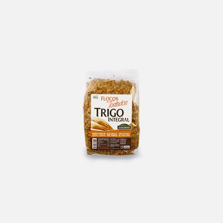 Flocos de Trigo Integral Tostados – 250 g – Salutem
