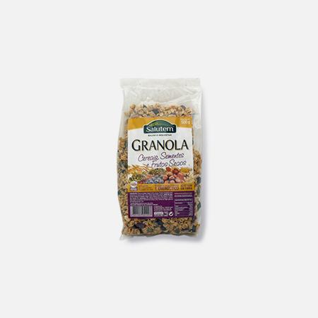 Granola Cereais Sementes e Frutos Secos – 500 g – Salutem