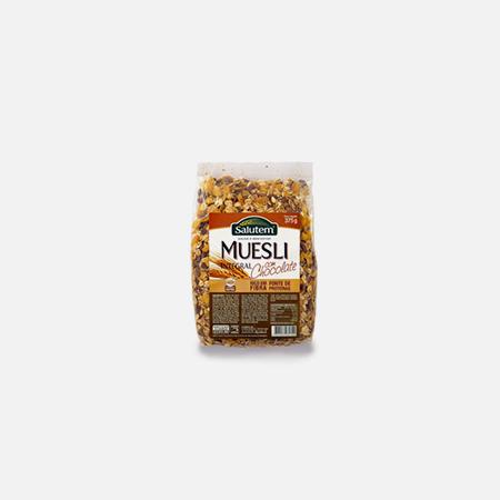 Muesli Integral com Chocolate – 375 g – Salutem