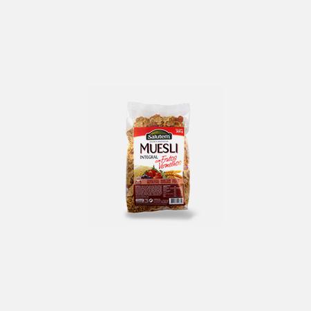 Muesli Integral com Frutos Vermelhos – 300 g – Salutem