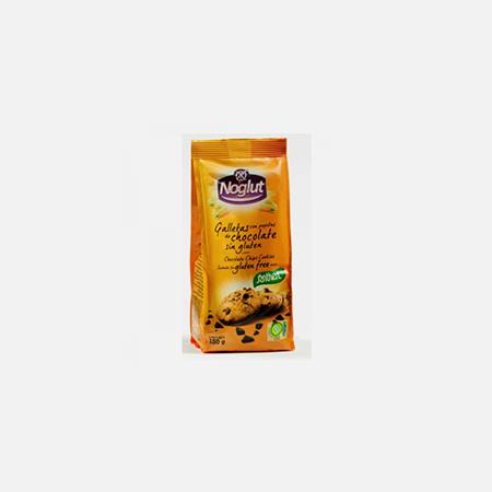 Noglut Bolachas com Pepitas de Chocolate – 150 g – Santiveri