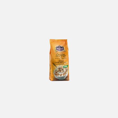 Noglut Cereais Cacau e Mel – 250 g – Santiveri