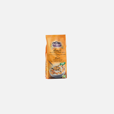 Noglut Muesli com Frutos Secos – 250 g – Santiveri