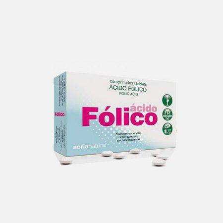 Ácido Fólico – 48 comprimidos – Soria Natural