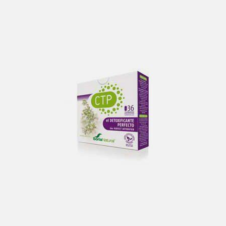 CTP- Detoxor – 36 comprimidos – Sorianatural